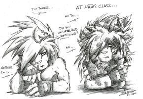 At maths class... by Mimy92Sonadow