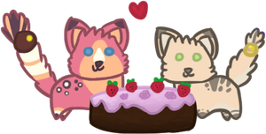 I Love Cake by bubbIies