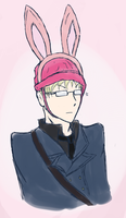 Real Men Wear Bunny Ears by Vegavis