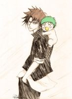 Oga and Beel by rithrisa