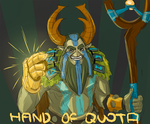 Hand of Quota by GetGrenade