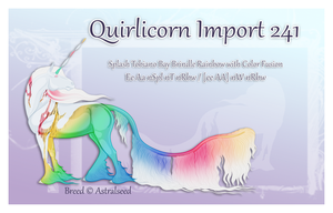 Quirlicorn Custom Import 241 by Astralseed