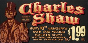 Charles Shaw chalkboard by TraderGino