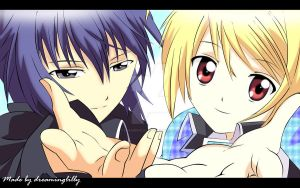Ikuto + Tadase Vector Wall by dreaminglilly