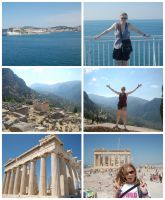 Greece Collage 1 by Creepyland