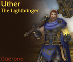 Uther the Lightbringer by Daerone