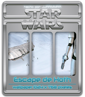 Escape de Hoth by jjrrmmrr
