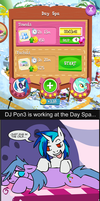 DJ Pon3 working at the Day Spa by AlkseeyaKC