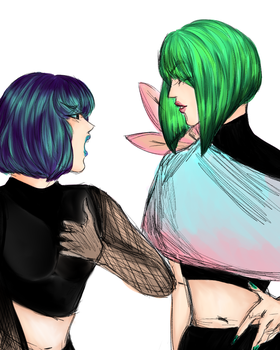 Green Sibs by HN-Vouch