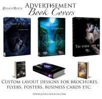 Advertisement Book Covers by StarsColdNight