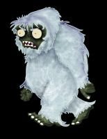 Plants vs Zombies: Yeti Zombie by IceQueen--