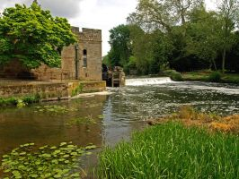 Watermill in Warwick by AgiVega