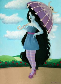 Marceline the vampire queen by CandyMermaid