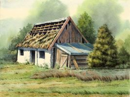 Old barn by JoachimL