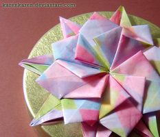 Origami tin box by KarenKaren