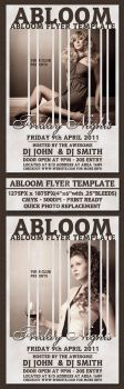 Abloom Flyer Template by femographi