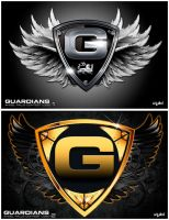 GUARDIANS - ANGELS FALL LOGO CONTEST by isikol