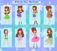 PMG: Daffodil's Wardrobe by Card-Queen