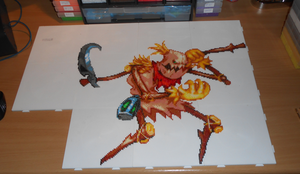 Fiddlesticks (Mini-Beads) by FTWBAmanojaku