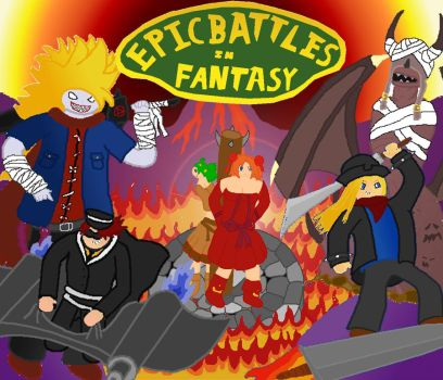 Epic Battles in Fantasy by liguidicewolf
