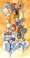 Kingdom hearts by Gigei