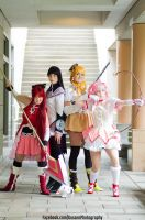 Madoka Magica: The Group [We Are Magical Girls] by bestfriendscosplay