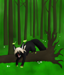 CE: Spring forest by InuKii
