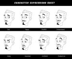 Teacher facial expressions by X-Factorism