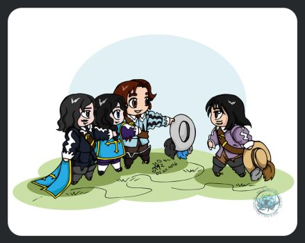 The Three Musketeers - Chibi Musketeers Story 7 by DeathLawliet