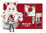 [CLOSED] Adoptable-Girl in Rose Dress- by animaniacs04