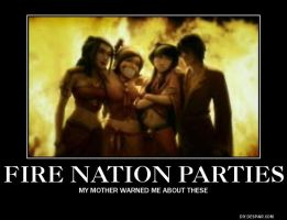 Fire Nation Party by Bookworm1355