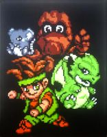 Little Samson and Friends by Squarepainter