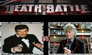 James Bond vs. The Third Doctor by ScarecrowsMainFan