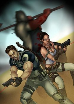 Resident Evil 5 by Aedrian
