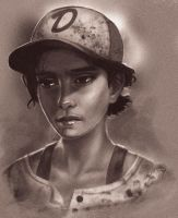 Clementine (The Walking Dead The Game) by Vicdakras