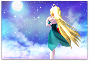 .: MMD :. The Girl who... by Meitsuniie-Shy
