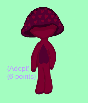 Mushroom child {Adopt, closed} {6 points} by BlueRoseDemon13