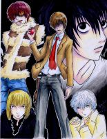 ::Death Note By:Liz-Kun:: by gameover-gang