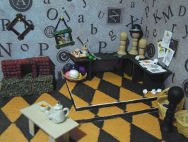 Mad Hatter's Work Room (WIP 2) by SmallCreationsByMel