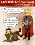 Loki's Tickle Belt Torture by Arkham-Insanity