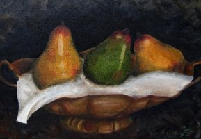 The Cliche Fruit Painting by LittleWheat