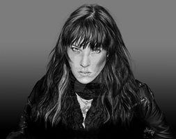 Lzzy Hale Portrait by sarahughey-art