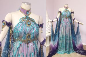 Art Nouveau Fantasy Gown by Lillyxandra