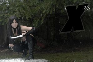 X-23 Hidden by CuteyKitty