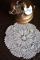 Vintage doily by fayettedream
