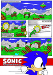 Sonic Freedom Saga page 1 ? by raverkidd