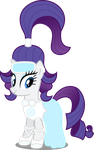 Ponies of the Future - Rarity by Canterlotian