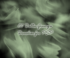 Bella Grunge Brushes for PSP by Degration