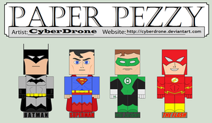 Paper Pezzy - DC by CyberDrone