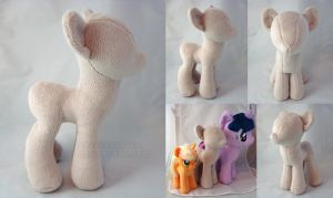 Pony Prototype Pattern by PlanetPlush